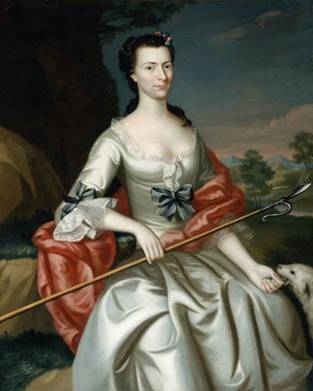 Ann Tyng (Mrs. Thomas Smelt), 1756 (John Singleton Copley) (1738-1815)   Museum of Fine Arts, Boston 39.464