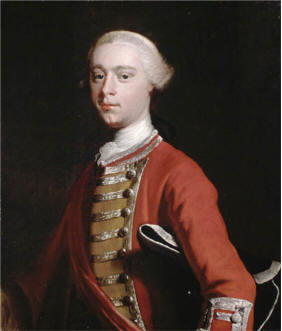 Major General James Wolfe, ca. 1755 (Joseph Highmore) (1692-1780) Location TBD