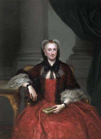 Maria Amalia of Saxony, ca. 1759 (Anton Mengs) (1728-1779)   Location TBD