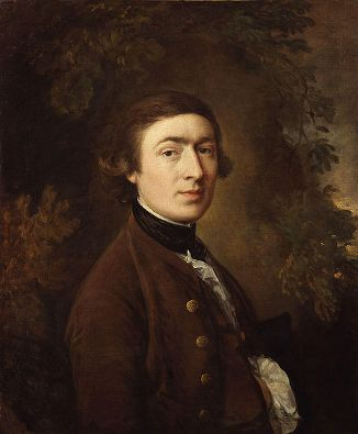 Self-Portrait, ca. 1758-59 (Thomas Gainsborough) (1727-1788) National Portrait Gallery, London NPG4446
