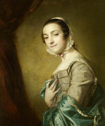 A Young Woman, ca. 1753 (Sir Joshua Reynolds) (1723-1792)   Montacute House, Somerset, UK