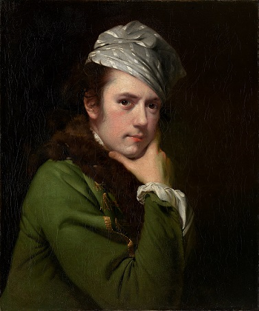 Self-Portrait, ca. 1765-1770 (Joseph Wright of Derby) (1734-1797)  National Gallery of Victoria, Melbourne, 2009.563