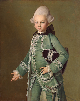 Count Alexi Bobrinsky, 1769 (Carl Ludvig Christineck) (ca. 1733-1794) State Hermitage Museum, St. Petersburg