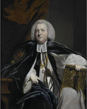 Robert Hay Drummond, Archbishop of Cantebury, ca. 1764 (Sir Joshua Reynolds) (1723-1792) St. Louis Art Museum, MO 46:1930