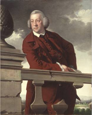 Robert Gwillym, ca. 1766 (Joseph Wright of Derby) (1734-1797) St. Louis Art Museum, MO 71:1965