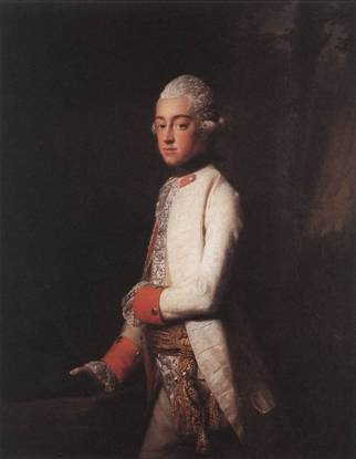Prince George Augustus of Mecklenburg-Strelitz, ca. 1769 (Allan Ramsay) (1713-1784) The Royal Collection, UK