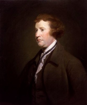 Edmund Burke, 1771 (style of Joshua Reynolds) (1723-179 2)   National Portrait Gallery, London