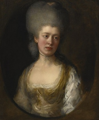 Lady Catherine Ponsonby, ca. 1777 (Thomas  Gainsborough) (1727-1788)   Sothebys Fine Art Auction House
