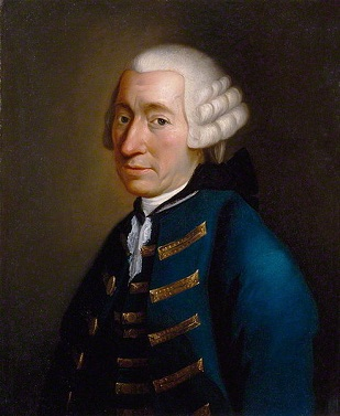 Tobias George Smollett, ca. 1770 (Unknown Artist)   National Portrait Gallery, London,   NPG 1110
