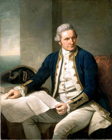 Captain James Cook, 1776 (Nathaniel Dance-Holland) (1735-1811)  National Maritime Museum, Greenwich, London, BHC2628