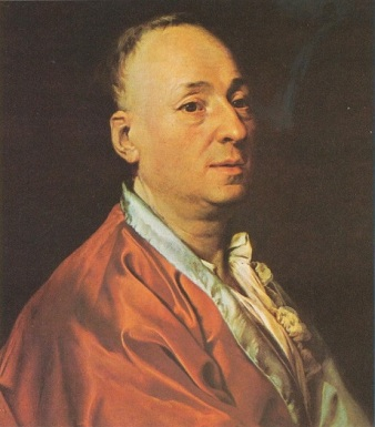 Denis Diderot, 1773 (Dmitri Levitsky) (1735-1822)  Location TBD