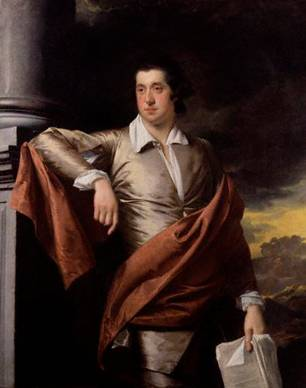 Thomas Day, ca. 1770 (Joseph Wright of Derby) (1734-1797) National Portrait Gallery, London  NPG 2490