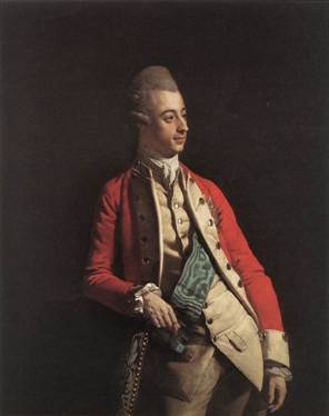 Prince Ernest Gottlob Albert of Mecklenburg-Strelitz, ca. 1772 (Johann Zoffany) (1733-1810)   The Royal Collection, Windsor