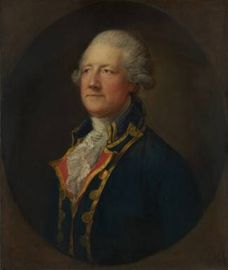 An English General, possibly William Bligh, ca. 1775 (Thomas Gainsborough) (1727-1788)   The Metropolitan Museum of Art, New York, NY    60.71.7