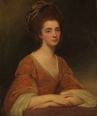 Martha Rigden (Mrs. Charles Frederick), ca. 1775-1777 (George Romney) (1734-1802)   The Metropolitan Museum of Art, New York, NY    45.59.5