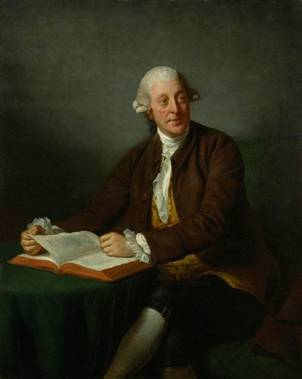 Arthur Murphy, ca. 1777  (Nathaniel Dance-Holland) (1735-1811)    National Portrait Gallery, London    NPG 10