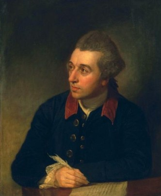 Richard Cumberland, ca. 1771  (George Romney) (1734-1802) The Huntington, San Marino, CA