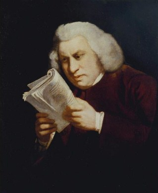 Samuel Johnson, ca. 1775  (Sir Joshua Reynolds) (1723-1792)   Location TBD