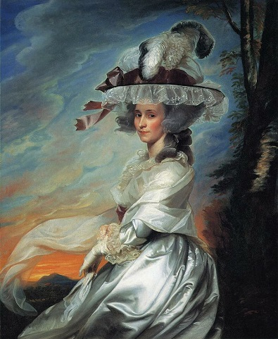 Abigail Bromfield, Mrs. Damiel Denison Rogers, 1784 (John Singleton Copley) (1738-1815) Location TBD