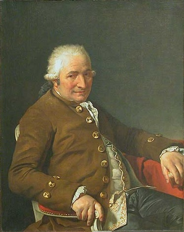 Charles-Pierre Pecoul, the Artist's Stepfather, 1784 (Jacques-Louis David) (1748-1825) Musée du Louvre, Paris, INV 3706