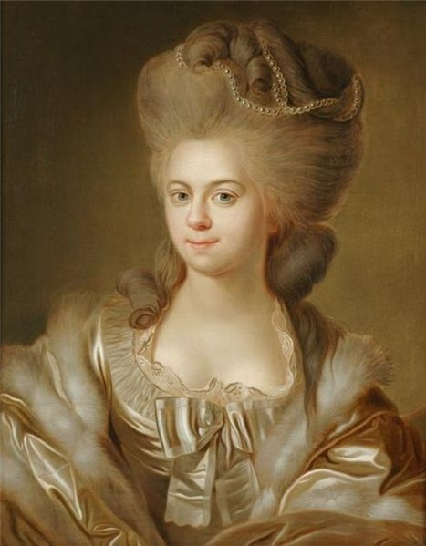 Duchess Elisabeth von Württemberg, ca. 1784 (Johann Baptist von Lampi the Elder) (1751-1830) Private Collection