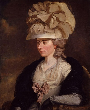 "Frances d'Arblay, ""Fanny Burney"", ca. 1785 (Edward Francisco Burney) (1760-1848) National Portrait Gallery, London, NPG 2634"