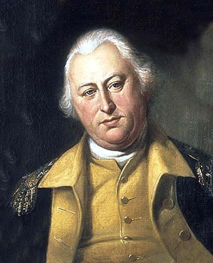 General Benjamin Lincoln, 1784 (Charles Willson Peale) (1741-1827) Location TBD