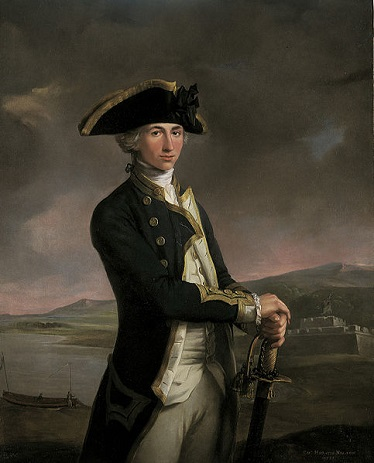 Horatio Nelson, 1781 (John Francis Rigaud) (1742-1810) National Maritime Museum, Greenwich, UK, BHC 2901