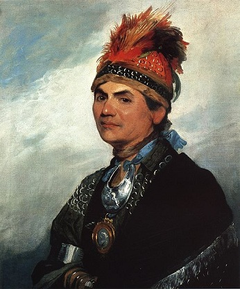 Thayendanegea (Joseph Brant), 1786 (Gilbert Stuart) (1755-1828) Private Collection