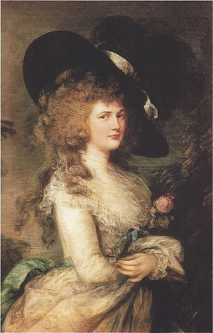 Lady Georgiana Cavendish, 1787 (Thomas Gainsborough) (1727-1788) Devonshire Collection, Chatsworth House, Derbyshire