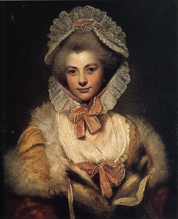 Lavinia Bingham, Countess Spencer, ca. 1781-1782 (Sir Joshua Reynolds) (1723-1792) Althorp House, Northamptonshire, UK