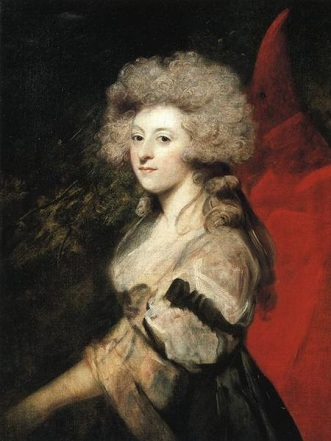 Maria Anne Fitzherbert (née Smythe), ca. 1788 (Sir Joshua Reynolds) (1723-1792) National Portrait Gallery, London, NPG L162