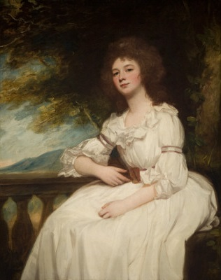 Miss Kitty Calcraft, 1787 (George Romney) (1734-1802) Brigham Young University Museum of Art, Provo, UT, 840002300