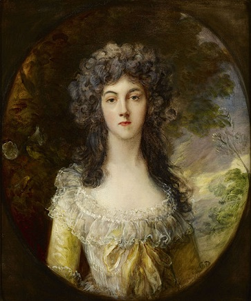 Mrs. Charles Hatchett, ca. 1786 (Thomas Gainsborough) (1727-1788) The Frick Collection, New York, NY, 1903.1.60