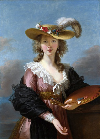 Self-Portrait, ca. 1783 (Élisabeth Louise Vigée Le Brun) (1755-1842) The National Gallery, London, NG 1653