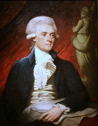 Thomas Jefferson, ca. 1786 (Mather Brown) (1761-1831) Location TBD