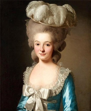A Woman, known as Mademoiselle de Bionville, 1780 (Alexander Roslin) (1718-1793) Bukowskis Auction House, Sale 559 Lot 282