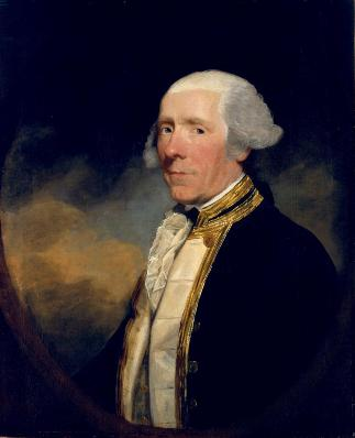 Captain Skeffington Lutwidge, 1783-1784 (Gilbert Stuart( 1755-1828) Chrysler Museum of Art, Norfolk, VA