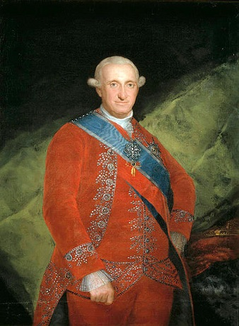 Charles IV, King of Spain, 1789 (Francisco de Goya) (1746-1828) Museo Nacional de Prado, Madrid