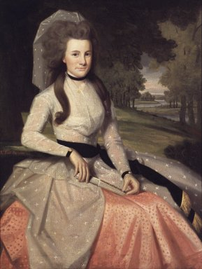 Clarissa Seymour, ca. 1789 (later Mrs. Truman Marsh), d. (Ralph Earl) (1751-1801) Brooklyn Museum, New York 48.8