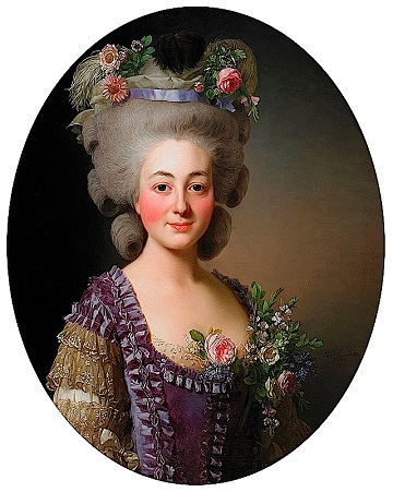Portrait of The Countess de Baviere-Grosberg (1780), Alexander Roslin