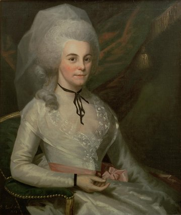 Elizabeth Schuyler Hamilton, 1787 (Ralph Earl) (1751-1803) Museum of the City of New York, NY