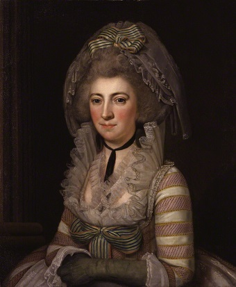 Hester Thrale, ca. 1785 (Unknown Italian Artist) National Potrait Gallery, London, NPG 4942