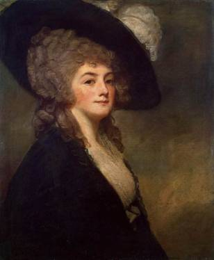 Mrs Harriet Greer, ca. 1781 (George Romney) (1734-1802) State Hermitage Museum, St. Petersburg