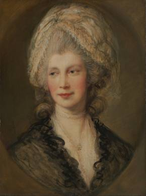 Queen Charlotte of England, ca. 1781 (Thomas Gainsborough) (1727-1788) The Metropolitan Museum of Art, New York, NY 49.7.55