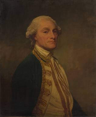 Admiral Sir Chaloner Ogle, ca. 1781 (George Romney) (1734-1802) The Metropolitan Museum of Art, New York, NY 53.220