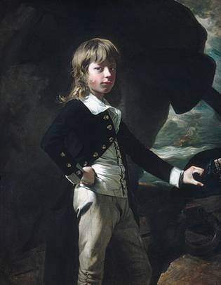 Midshipman Augustus Brine, ca. 1782 (John Singleton Copley) (1739-1815) The Metropolitan Museum of Art, New York, NY 43.86.4