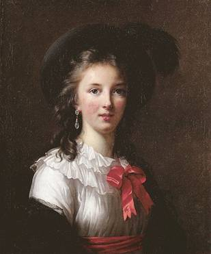 Self-Portrait at 27 years old, 1782 (Elizabeth Louise Vigee-Lebrun) (1755-1842) Location TBD
