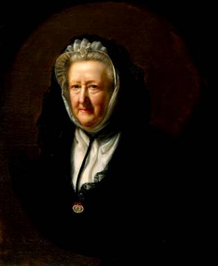 Mary Delany (née Granville), ca. 1782 (John Opie) (1761-1807) National Portrait Gallery, London NPG 1030