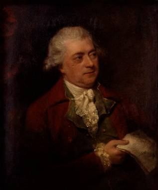 John O'Keefe, ca. 1782 (Thomas or William Lawranson) (fl. 1733-1786/1774-1780) National Portrait Gallery, London NPG 165